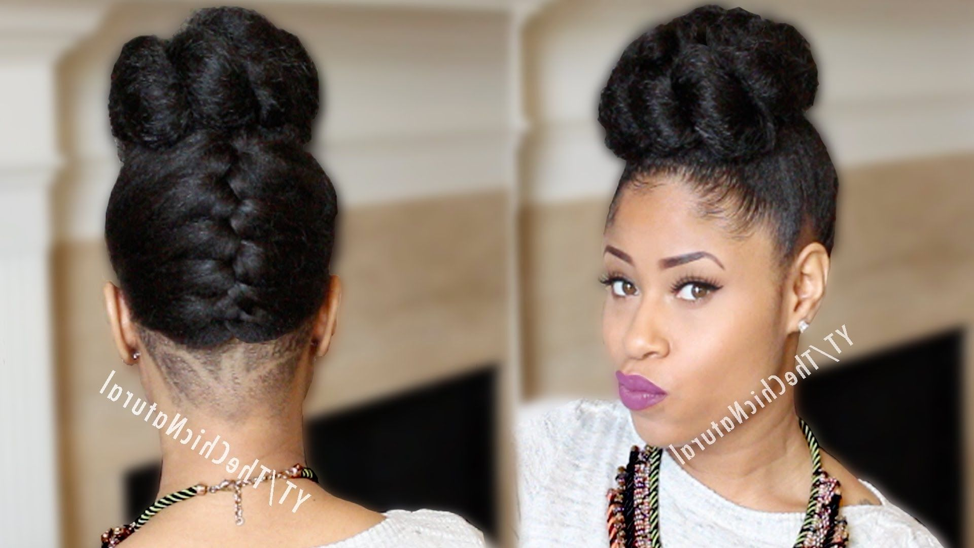 Updo Hairstyles For African American Hair Hairstyle Picture Magz ...
