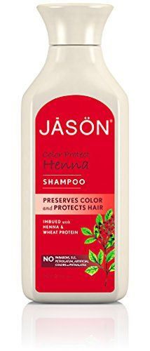 Jason Color Protect Henna Shampoo 16 Fluid Ounce -- Find out more about the great product at the image link.