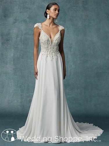 Maggie Sottero Gabor #grecianweddingdresses