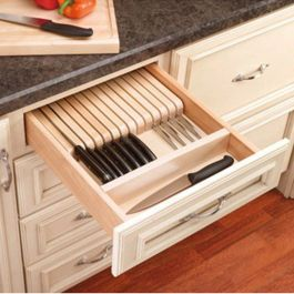 Kitchen Drawer Organizers, RevaShelf 4WKB Series is part of Drawer Organization Konmari -