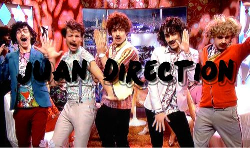 Juan Direction: Carlito, Pepito, Martito, Miguelito, and Dick