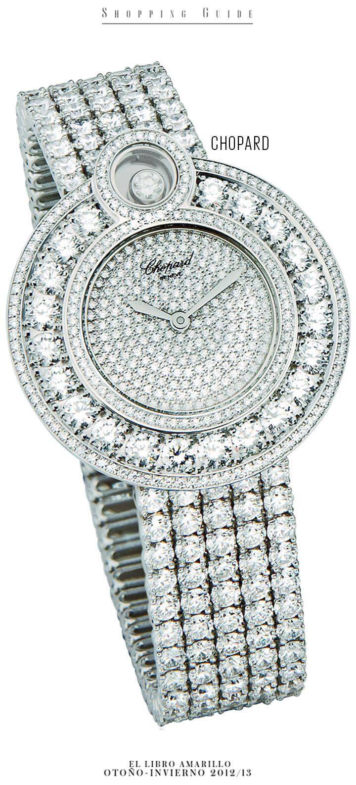 f7ecbc55bf3e Mujer - Reloj - Chopard - El Palacio de Hierro - El Libro Amarillo  Otoño Invierno 12 13