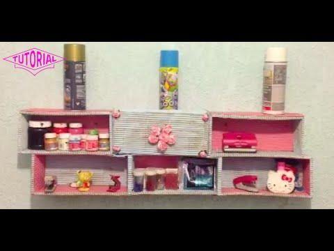 Diy crea una repisa con cajas de zapatos para organizar tu cuarto ant decoration ideas - Crea tu habitacion ...