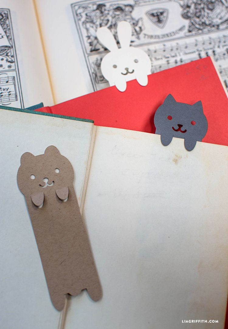 3 Easy Diy Storage Ideas For Small Kitchen: DIY Papercut Animal Bookmarks