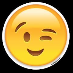 Winking Face | Emoji Stickers