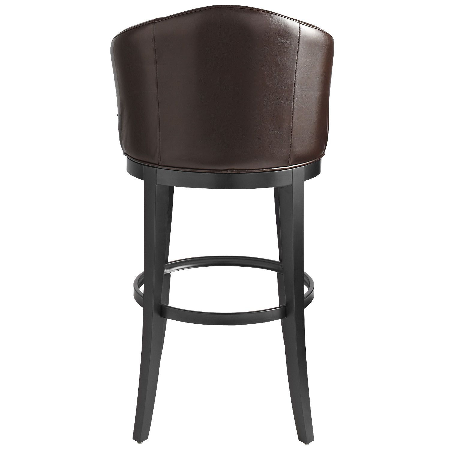 Isaac Brown Swivel Bar Stool | Products | Pinterest