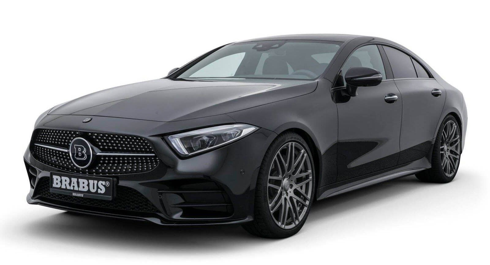 2019 Mercedes Benz Cls Gets Light Tuning Package From Brabus With