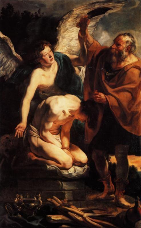 Jacob Jordaens The Sacrifice Of Isaac 1630 Kartiny Zhivopis