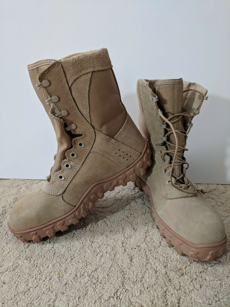 63250029536 Rocky S2V Tactical Military Boots Size 10W Pre-owned Great condition ...