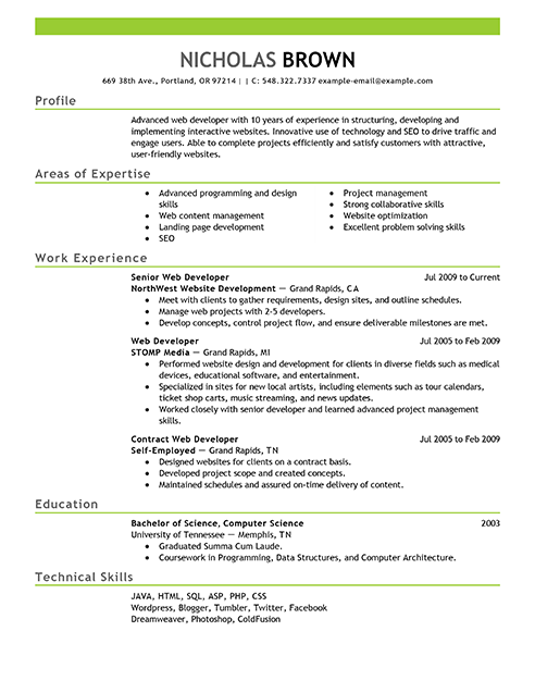 Pin by Suresh Kumar on Resume | Resume builder, Resume format ...