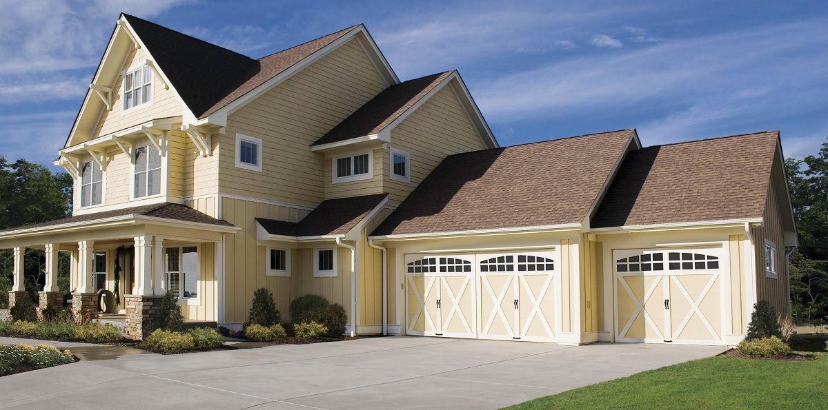 Residential Steel Garage Doors Company In Fort Myers Fl Residential Garage Doors Garage Doors Traditional Exterior