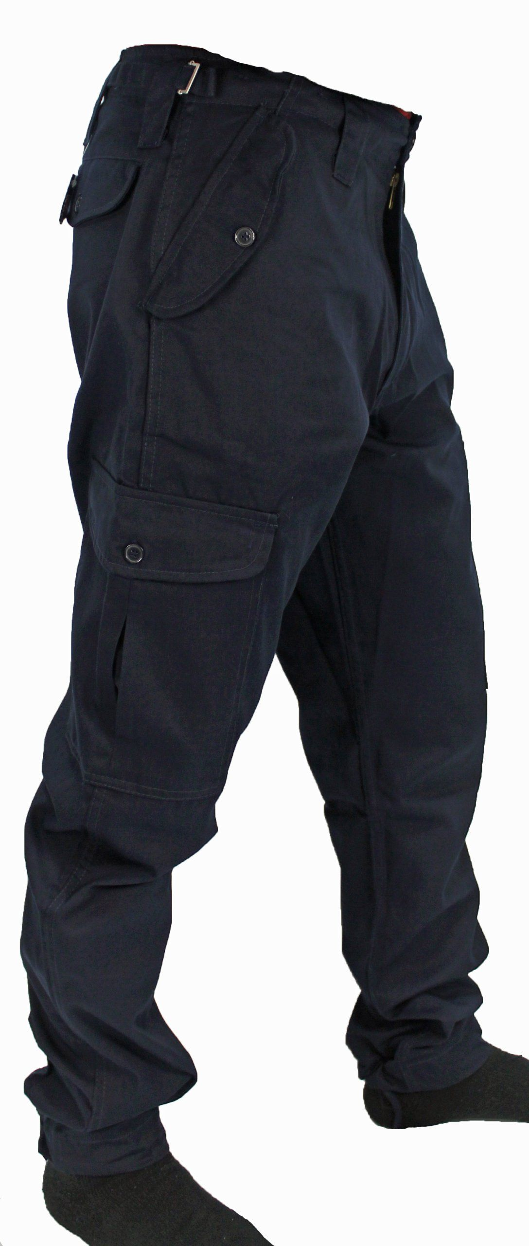 b74373cfdcd4 Picture 3 of 4. Mens Army Combat Work Trousers Pants Combats Cargo by WWK    WorkWear King  Amazon.co.uk  Clothing