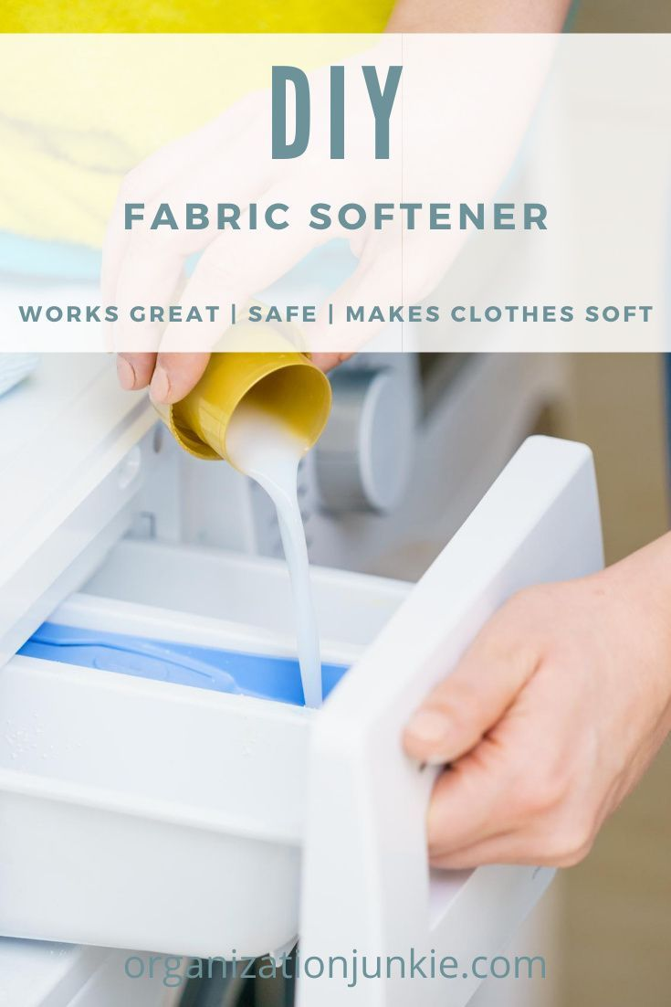 Diy fabric softener with essential oils in 2020 diy