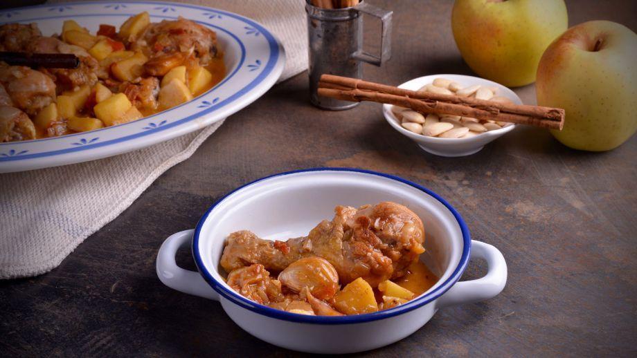 Recetas Cocina Tradicional Española   Pollo A La Canela Con Manzana Hermana Maria Jose Receta
