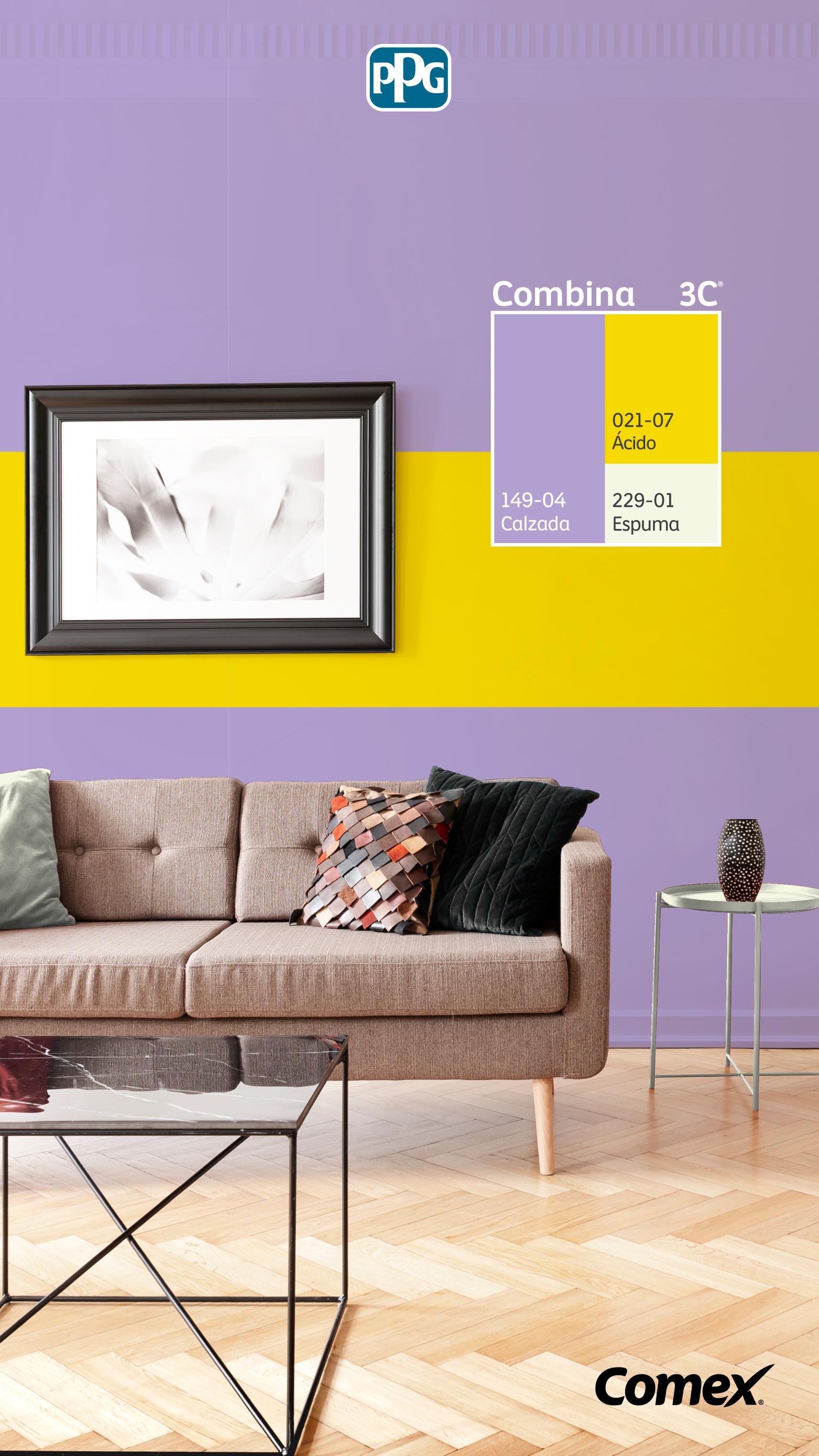 Has Escuchado Sobre El Combina3c Un Sistema Que Te Ofrece Miles De Posibil Colores De Comex Colores De Casas Interiores Colores De Pintura Para Dormitorios