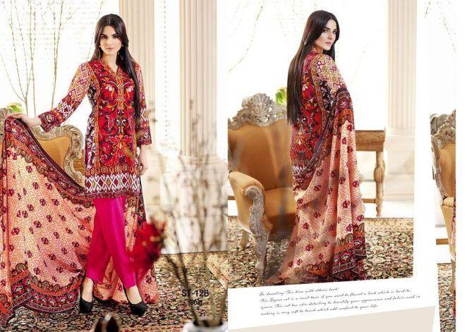6ecad4322b Discover ideas about Lehenga Collection. Shariq Textiles Libas Lawn ...