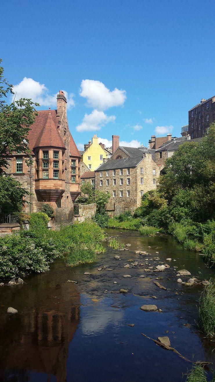 Dean Village in Edinburgh, Scotland © Enriching My Soul