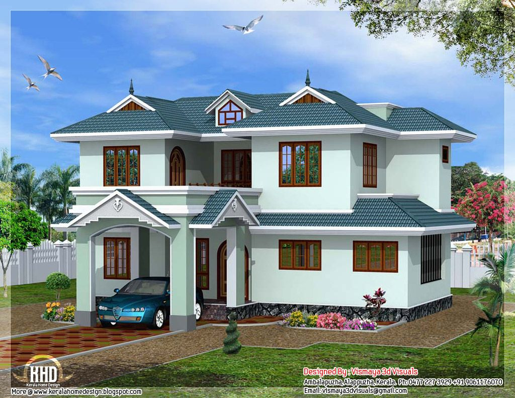 Kerala style villa kerala beautiful houses inside house for 4 bhk villa interior design
