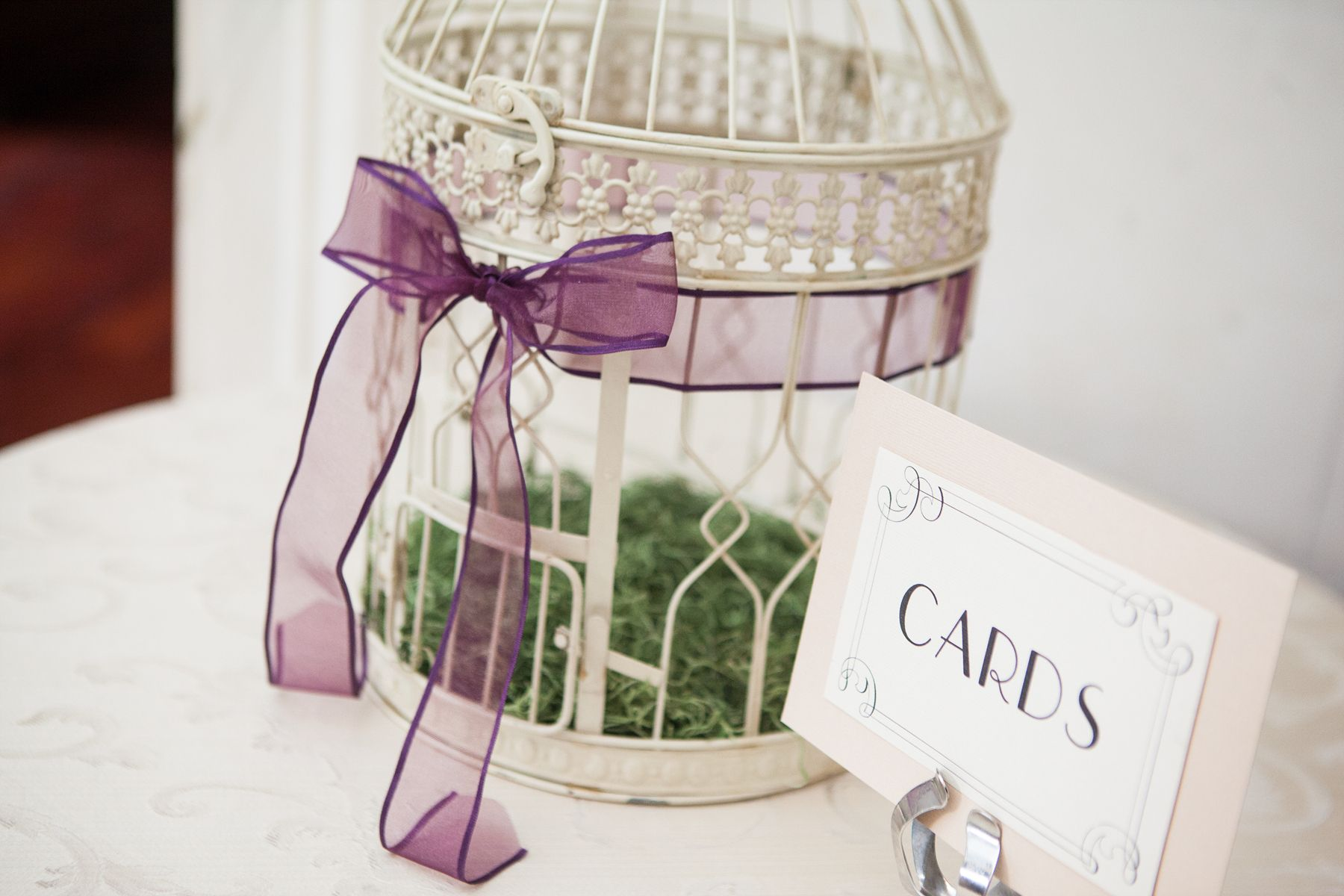 NYIT de Seversky Mansion wedding cards birdcage detail New York