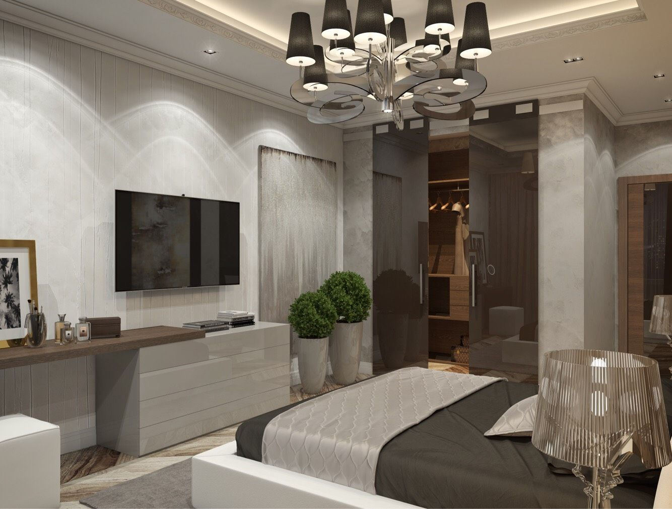 Lazy sunday chandelier private residence projects
