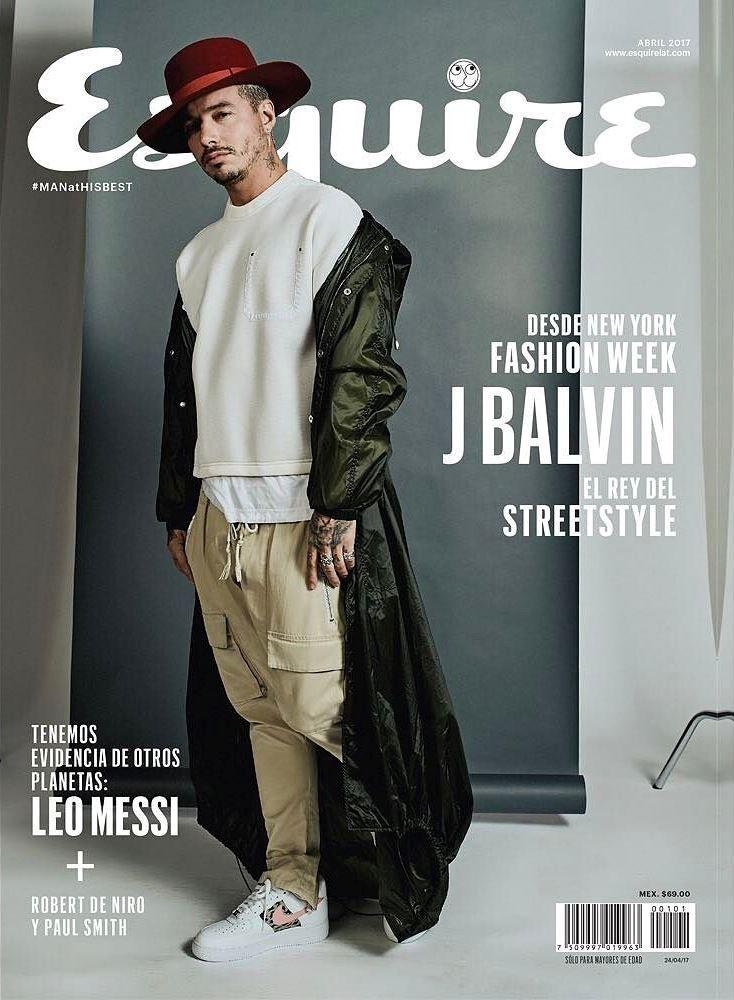 82c36887e11 Exclusiva  J Balvin para Esquire México por César Balcázar