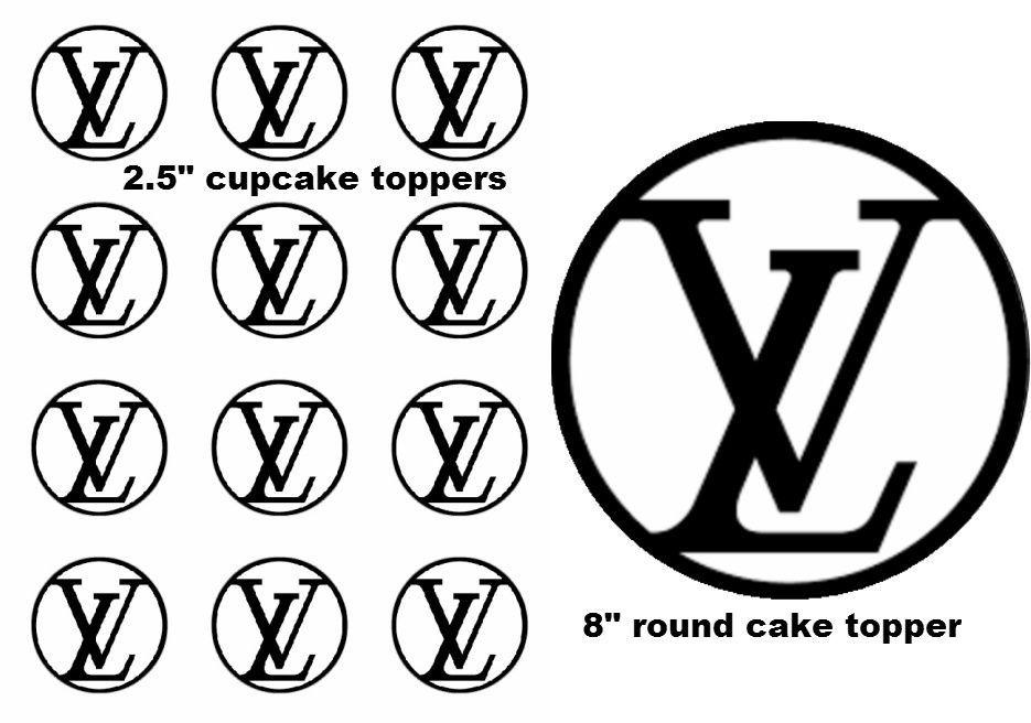 Free Simple Brown Louis Vuitton Logo Vector