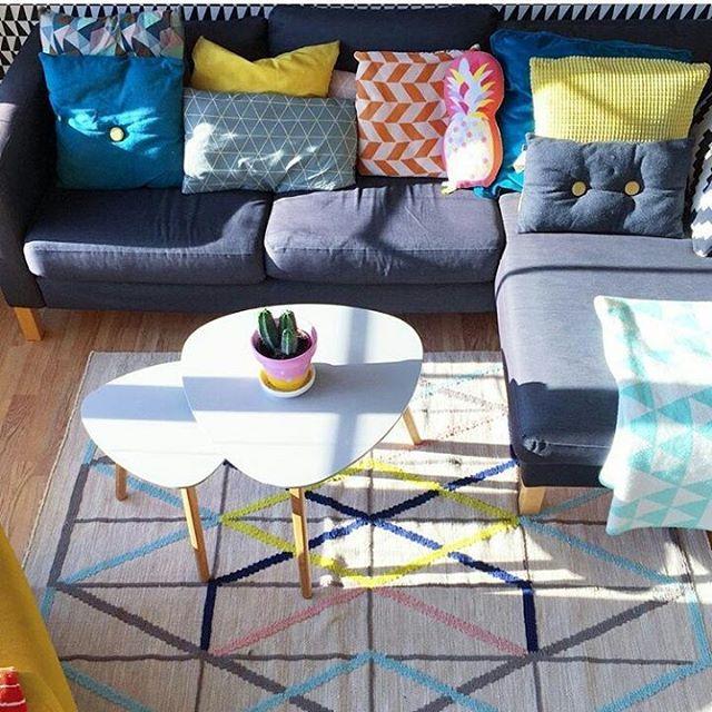 Saturday 😍🙌 Credit: @ingunn1 ____________________________________ #interior #interiors #interiores #interiordesign #interiør  #farger #fargeglede #fargelykke #color #colorful #colorfulinterior #colorsplash  #Norway #repost