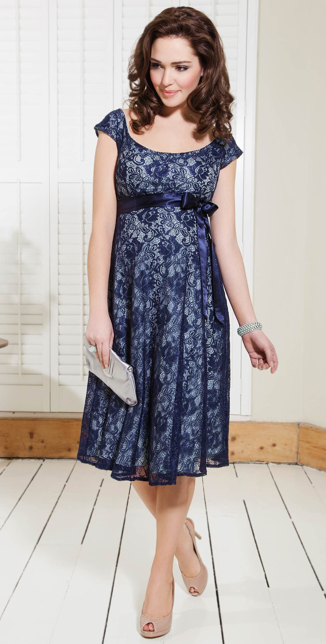 Eliza Maternity Dress (Aqua Marine)  Maternity Wedding Dresses, Evening