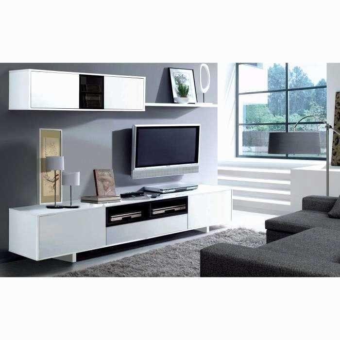 Meuble Tv Mural Pas Cher Meuble Tv Suspendu Blanc Brillant Meuble