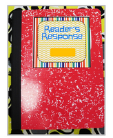 """2nd Grade Shenanigans: Reader's Response Journal - I just like the organization of it, the use of rubrics, and the application of other """"think clouds."""""""