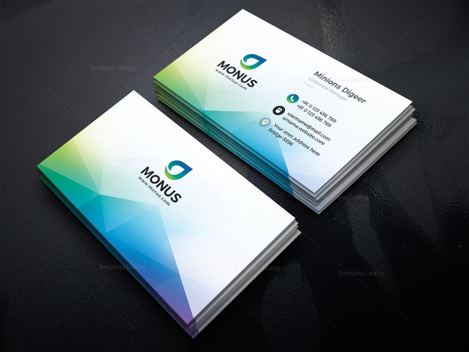 Aurora modern business card design template 001593 gfx pinterest aurora modern business card design template 001593 fbccfo Image collections
