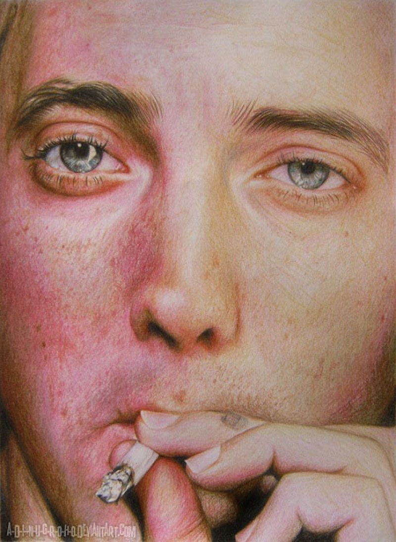These are not pictures but color pencil drawings | AntsMagazine.com