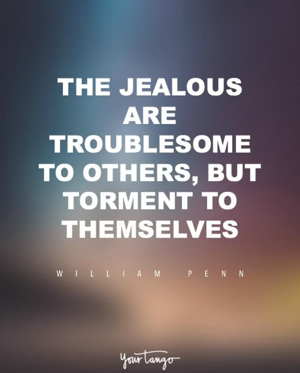 The Jealous Are Troublesome To Others But Torment To Themselves