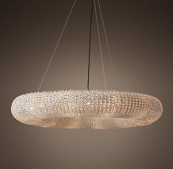 Crystal Halo Chandelier from Restoration Hardware. & Crystal Halo Chandelier 41