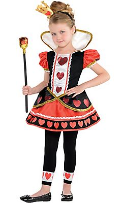 Toddler Girls Queen Of Hearts Costume Sc 1 St Pinterest  sc 1 st  Germanpascual.Com & Queen Of Hearts Costume Toddler u0026 Queen Of Hearts Costume Dress ...