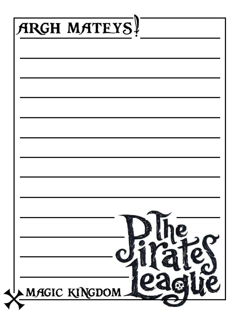 Pirates League - Project Life Disney Journal Card ...