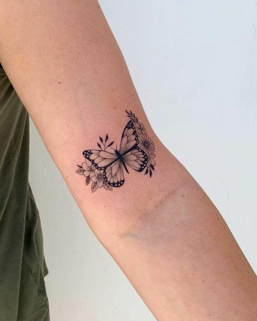 Photo of 45 wunderbare Schmetterling Tattoo-Ideen für Tattoo-Liebhaber – Seite 31 von 99…