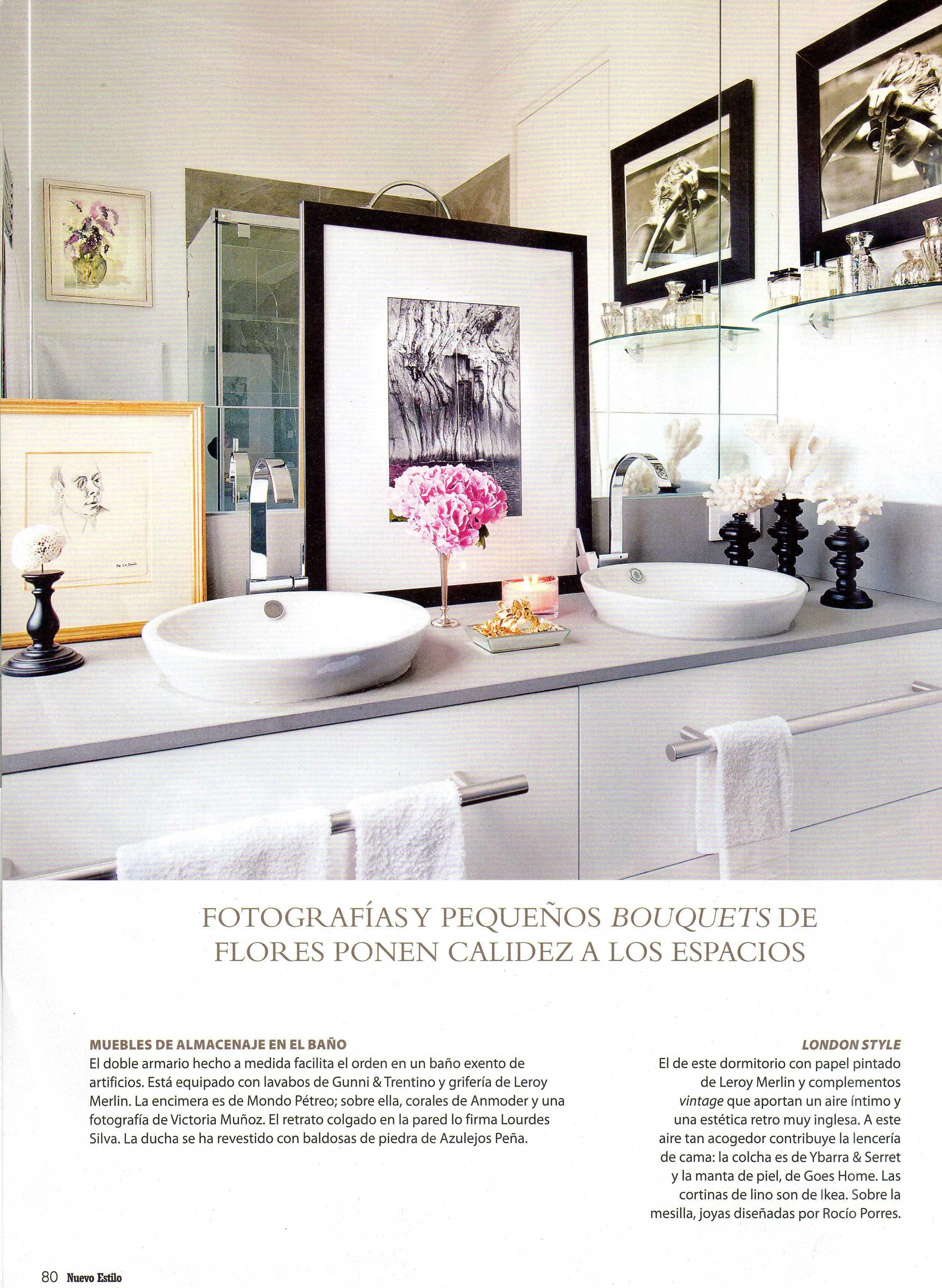 Joyas de Rocio Porres en la revista Nuevo Estilo | cuartos de baño ...