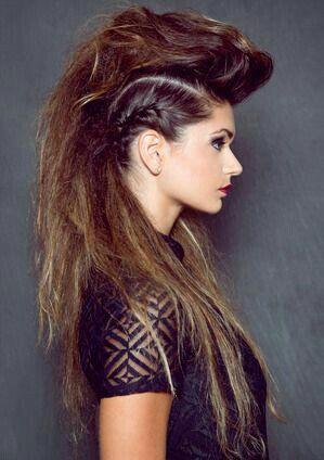 Pin By Dawn Kreiger On The Bigger The Hair Rocker Hair Long Hair Styles Editorial Hair