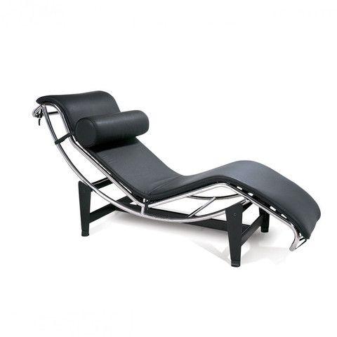 Le Corbusier Style LC4 Chaise Lounge