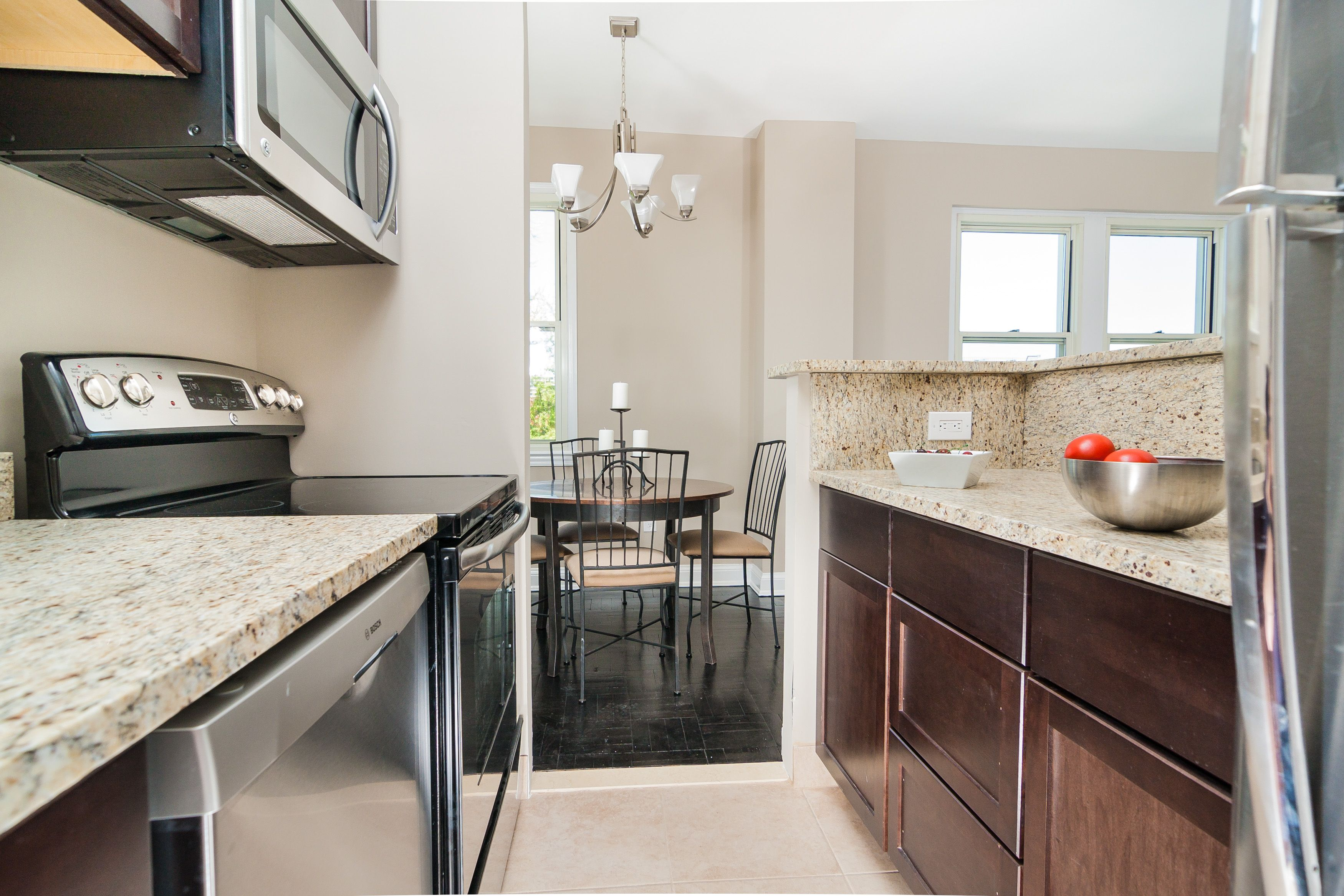 Newly renovated kitchen with upgraded appliances ...