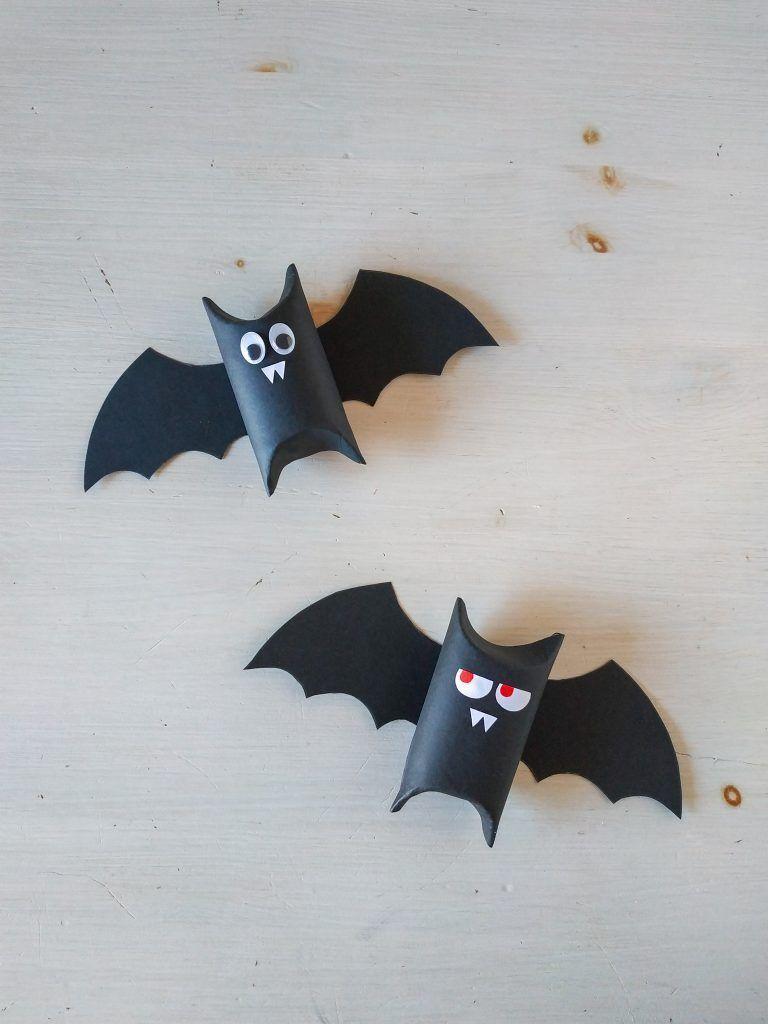 Bat Tutorial Cómo Hacer Un Murciélago Para Halloween Reciclando Pimienta Y Purpurina Como Hacer Un Murcielago Murcielagos Halloween Decoración Halloween