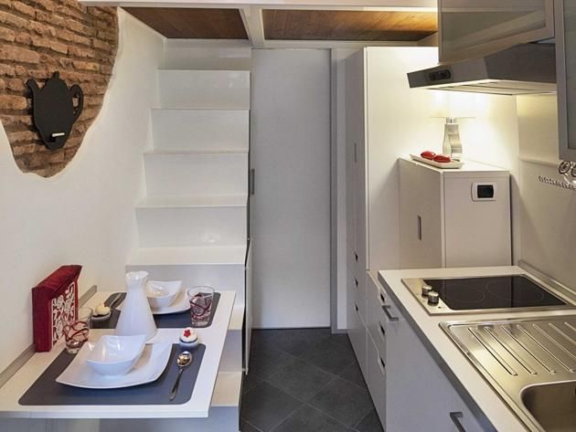 The smallest house in italy now for rent near castel santangelo in