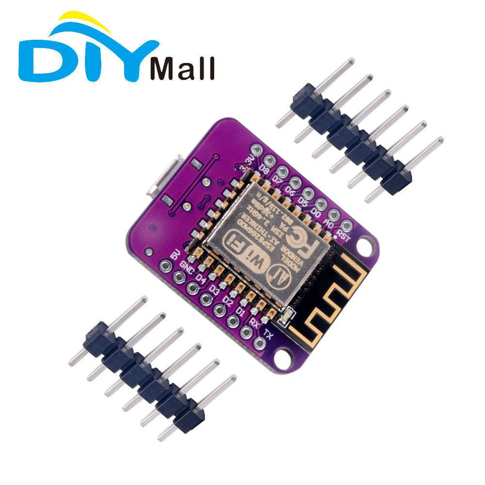 1/3/5Pcs ESP8266 Wemos D1 Mini V2 NodeMcu Wifi Development Board for ...