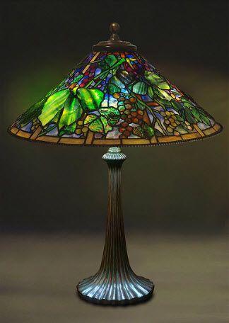 Google image result for httpnon solo arteimage filesart lampara de mesa de uvas y hojas de parras de louis comfort tiffany ms aloadofball Images