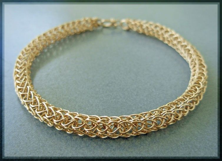 Woven Wire Bangle - WIRE Center •