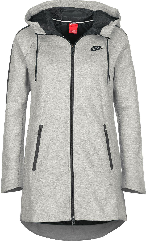 e5839f30635b Nike Tech Fleece Aeroloft W parka grey   ....Come See How GOOD I ...