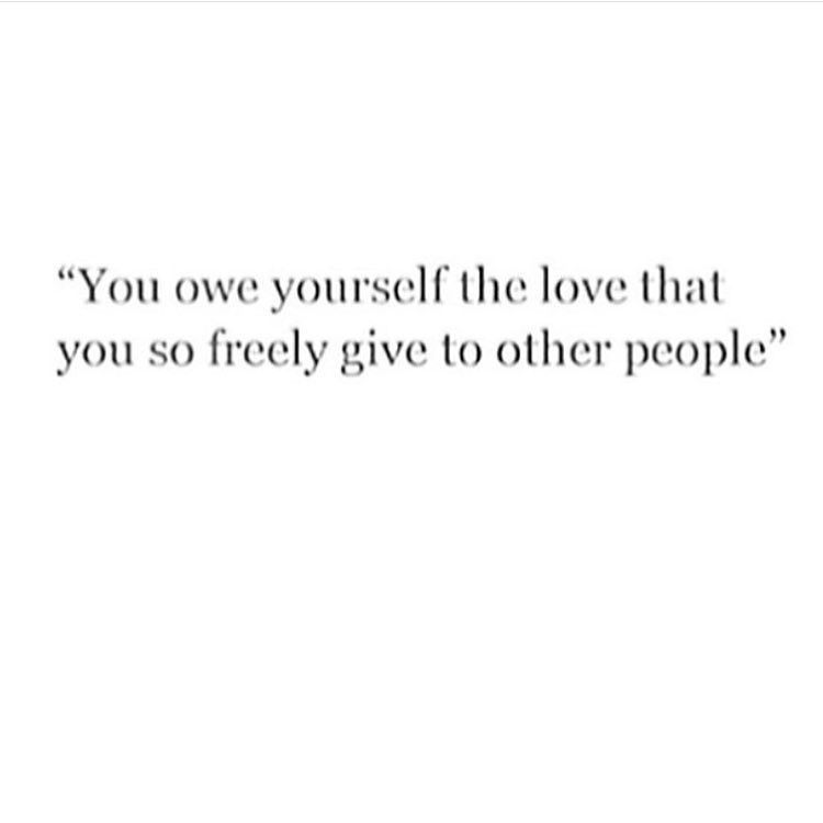 Sometimes We Forget To Love Ourselves With The Same Intensity That