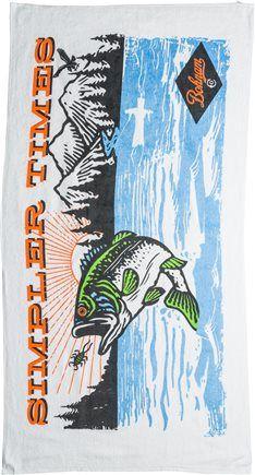 BONAM LUNKER LAKE TOWEL. http://www.swell.com/All-Kids-Accessories/BONAM-LUNKER-LAKE-TOWEL?cs=WH