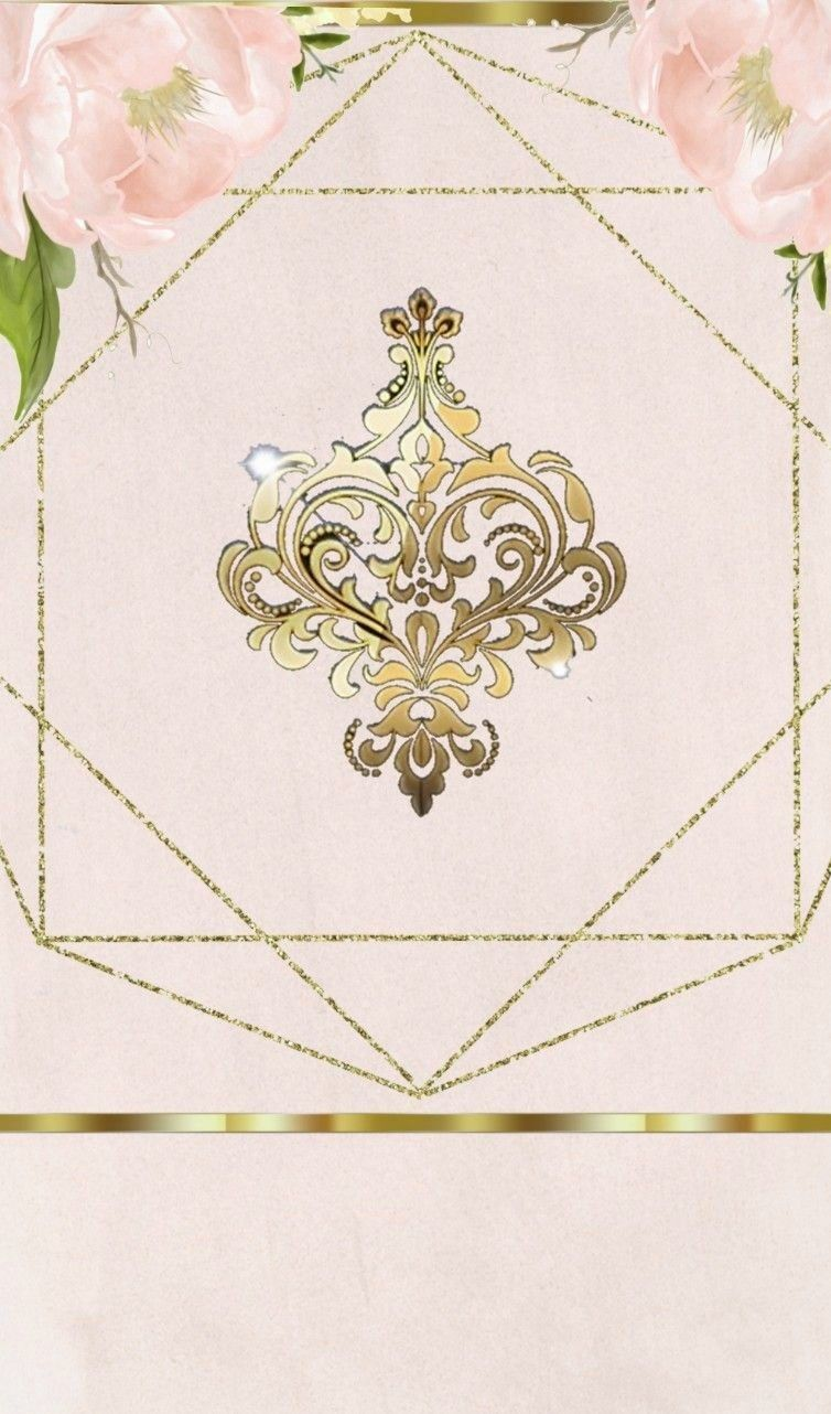 Gold And White Ivory Cream Rose Gold Wallpaper Pink Rose Flower